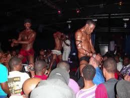 men Black clubs gay